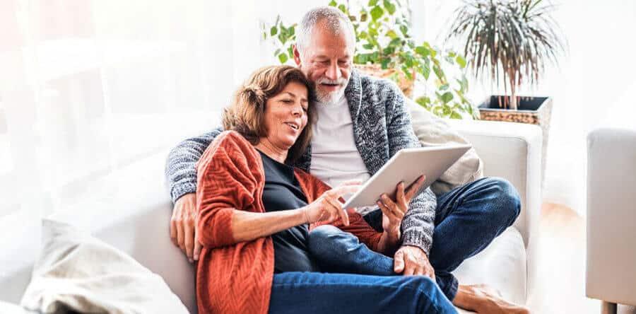 ouder stel hypotheek overstluiten pension