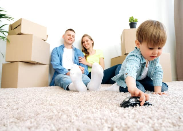 Stel koopt volgende huis