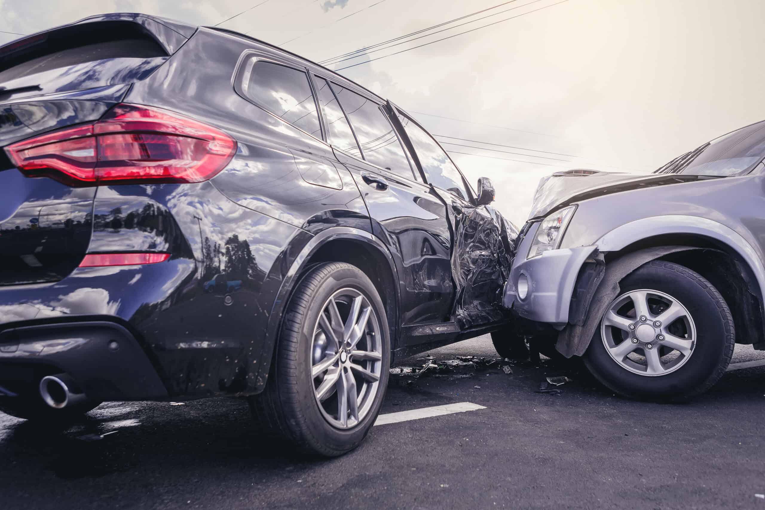 Schade door een verkeersongeval