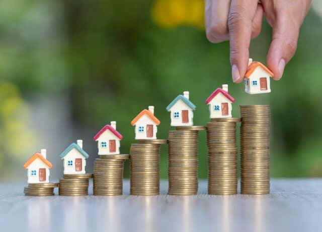 Ongekende stijging in huizenprijzen